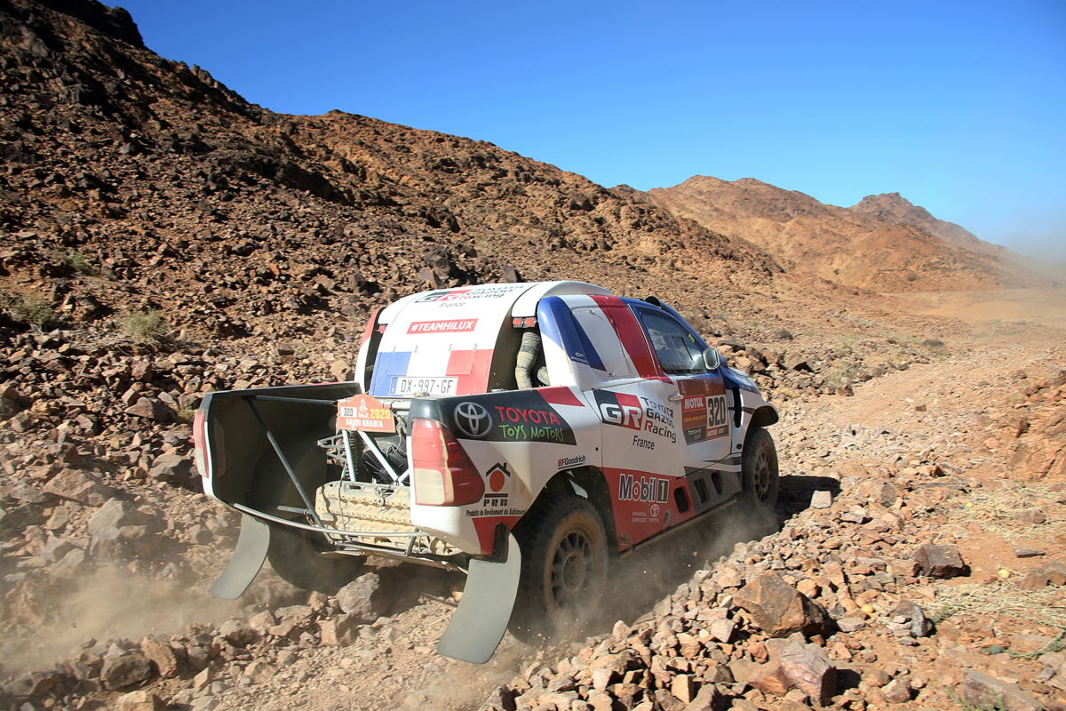 Dakar 2020 - Etape 2 - Une vraie journée de galère !